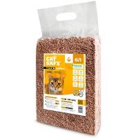 Кэт Сейф тофу 6л - Кофе, комкующийся Соевый наполнитель (Cat Safe)
