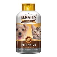 """Шампунь """"Keratin+"""" Intensive для жесткошерстных собак и кошек 400мл"""