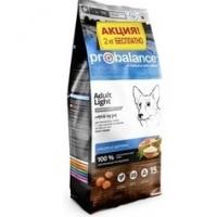 ПроБаланс 15кг + 2кг для собак Лайт низкокалорийный (ProBalance)