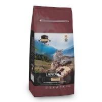 Ландор 2кг - Ягненок/Рис, для кошек с Чувствительным пищеварением (Landor)