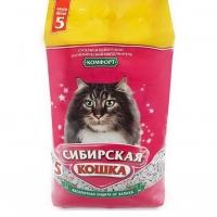 "Сибирская кошка ""Комфорт"" 5л, впитывающий"