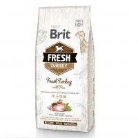 Брит Фреш 12кг. Индейка и Горох для собак, контроль веса (Brit Fresh)