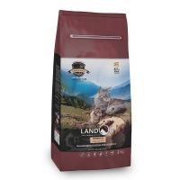 Ландор 400гр - Ягненок/Рис, для кошек с Чувствительным пищеварением (Landor)