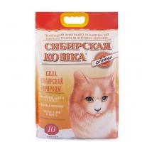 "Сибирская кошка ""Оптима"" 10л, комкующийся"