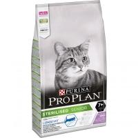 ПроПлан для кошек стерилизованных пожилых (7+), Индейка. 10кг (Pro Plan)