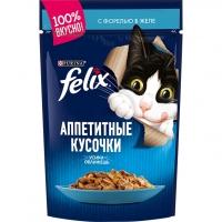 Феликс 85гр - Форель (желе) (Felix)