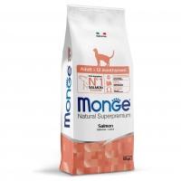 Монж 10кг Лосось - корм для взрослых кошек (Monge)