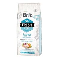 Брит Фреш 12кг. Рыба и Тыква для собак Крупных (Brit Fresh)