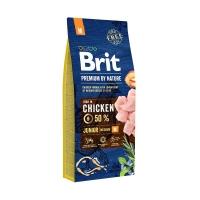 Брит 15кг для щенков Средних пород Курица (Brit Premium by Nature)
