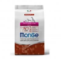Монж Спешл корм для Собак Мелких пород 2,5кг, Ягненок (Monge)