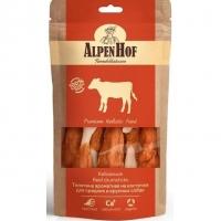 АльпенХоф для собак Средних и Крупных 80гр - Телятина ароматная на косточке (Alpen Hof)