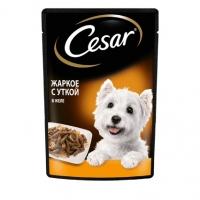 Цезарь 85гр - Жаркое с Уткой, в желе (Cezar)