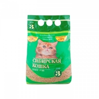"""Сибирская кошка для котят """"Лесной"""", древесный, 3л + 20% в подарок"""