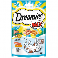Дримс 60гр Лосось и Сыр (Dreamies)