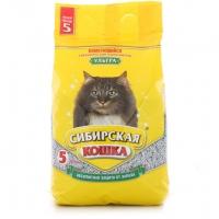 """Сибирская кошка """"Ультра"""" комкующийся, 5л"""