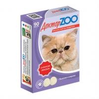 Доктор Зоо для кошек 90шт - Лосось