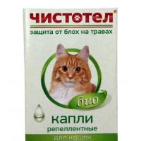 """Капли репеллентные """"Чистотел"""" - для кошек"""
