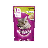 Вискас 85гр - Паштет - Утка (Whiskas)