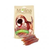 Молина 80гр - Утиная грудка, лакомство для собак (Molina)