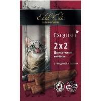 Эдель Кет Говядина/Салями - колбаски для кошек (Edel Cat)