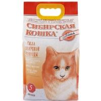 "Сибирская кошка ""Оптима"" 5л, комкующийся"