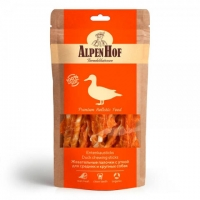 АльпенХоф для собак Средних и Крупных 80гр - Жевательные палочки с Уткой (Alpen Hof)