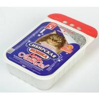 "Сибирская кошка ""Супер"" комкующийся, Лоток 5л"