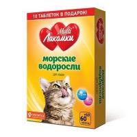 МультиЛакомки для кошек - Морские водоросли, 70шт