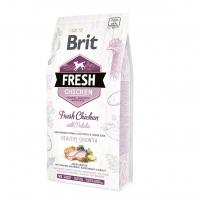 Брит Фреш 12кг. Курица и Картофель для щенков всех пород (Brit Fresh)