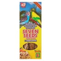 Семь Семян - палочки для попугаев Орех, 3шт (90гр) (Seven Seeds)