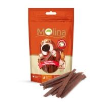 Молина 50гр - Нарезка из говядины, лакомство для мелких собак (Molina)
