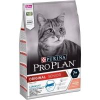 ПроПлан для кошек пожилых (7+), Лосось. 1,5кг (Pro Plan)
