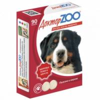 Доктор Зоо для собак 90шт - Биотин (Красивая шерсть)