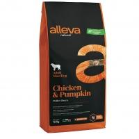 Аллева Натурал 12кг - Курица, Тыква - для собак Крупных (Alleva Natural)