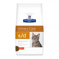 Хилс для кошек. Диета 5кг. S/D - лечение МКБ - Курица (Hill's)