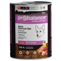 Пробаланс 850гр - Телятина/Кролик (Probalance)