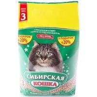 """Сибирская кошка """"Лесной"""", древесный, 3л + 20% в подарок"""