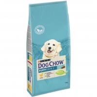 Дог Чау 14кг для щенков Курица (Dog Chow)