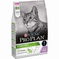 ПроПлан для кошек стерилизованных, Индейка. 3кг (Pro Plan)