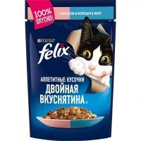 Феликс 85гр - Лосось/Форель (желе) (Felix)