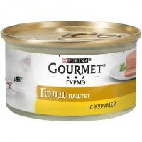 Гурме Голд 85гр - Курица паштет (Gourmet)