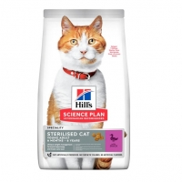 Хиллс для кошек стерилизованных. Утка. 1,5кг (Hill's)