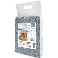 Кэт Сейф тофу 6л - Древесный уголь, комкующийся Соевый наполнитель (Cat Safe)