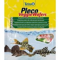 Тетра Плеко Вегги Ваферс 15гр, корм для травоядных донных рыб (Tetra)