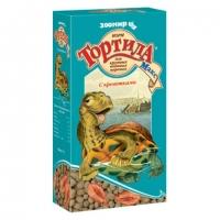 Тортила-Макс 70гр - гранулы для водных черепах, с Креветками