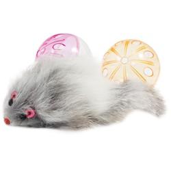 Набор игрушек для кошек (2 мяча, мышь) Triol (арт.0329)