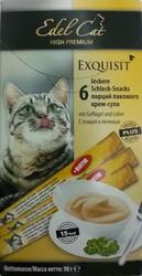 "Лакомство ""Edel Cat"" Крем-суп для кошек - Птица и Печень, 90гр (6шт)"