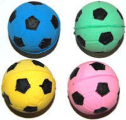 Мяч футбольный одноцветный 4,5см