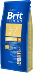 Brit Premium Medium Breed корм для собак средних пород, Курица 15кг