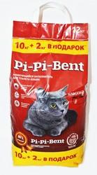 Пи-Пи-Бент комкующийся 10кг + 2кг (Классик)